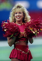 World Bowl Cheerleaders 1992. Photo F. Scott Grant