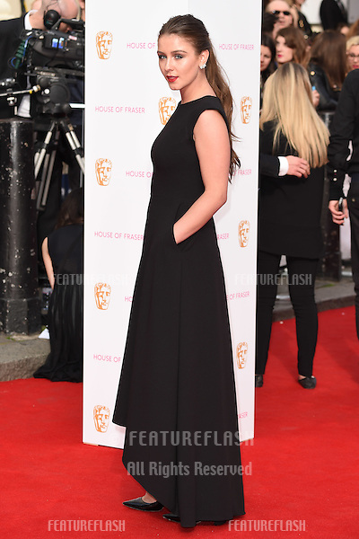 Brooke Vincent<br /> arrives for the 2015 BAFTA TV Awards at the Theatre Royal, Drury Lane, London. 10/05/2015 Picture by: Steve Vas / Featureflash