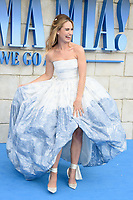 "Lily James<br /> arriving for the ""Mama Mia! Here We Go Again"" World premiere at the Eventim Apollo, Hammersmith, London<br /> <br /> ©Ash Knotek  D3415  16/07/2018"