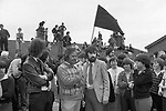 The Funeral of Joe McDonnell the Fifth Hunger Striker to die, 1980s. Belfast The Troubles July 1981.