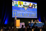 St Johnstone FC Hall of Fame Dinner, Perth Concert Hall….03.04.16<br />Gordon Bannerman hosted the evening<br />Picture by Graeme Hart.<br />Copyright Perthshire Picture Agency<br />Tel: 01738 623350  Mobile: 07990 594431