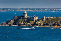 France, Côtes-d'Armor (22), Côte d'Emeraude, Plévenon, Fort-la-Latte // / France, Brittany, Cotes-D'Armor,  Emeraude coast , Fort-la-Latte