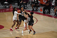 Image from Arkansas' loss to Texas A&M Sunday Jan. 10, 2021 at Bud Walton Arena in Fayetteville. Arkansas lost 74-73. Visit nwaonline.com/210111Daily/ and nwadg.com/photos. (NWA Democrat-Gazette/J.T. Wampler)