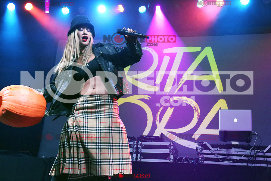 CHESTER, PA - OCTOBER 28:  Rita Ora performs at Harrah's in Chester, Pa on October 28, 2017  ***HOUSE COVERAGE Credit: Star Shooter/MediaPunch /NortePhoto.com