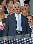 Atletico de Madrid's President Enrique Cerezo during La Liga match. August 18,2019. (ALTERPHOTOS/Acero)