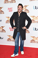 """LONDON, UK. October 09, 2019: Jeremy Edwards at the photocall for """"The X Factor: Celebrity"""", London.<br /> Picture: Steve Vas/Featureflash"""
