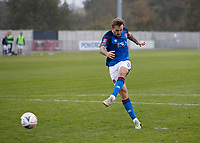 8th November 2020; SkyEx Community Stadium, London, England; Football Association Cup, Hayes and Yeading United versus Carlisle United; Nick Anderton of Carlisle United during the penalty shoot out