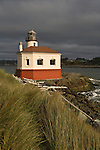 Coquille River Lighthouse, Bandon, Oregon.