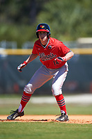 Illinois State Redbirds designated hitter Nick Zouras (14) during a game against the Northwestern Wildcats on March 6, 2016 at North Charlotte Regional Park in Port Charlotte, Florida.  Illinois State defeated Northwestern 10-4.  (Mike Janes/Four Seam Images)