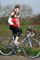 22 MAR 2012 - LOUGHBOROUGH, GBR - British triathlete Lucy Hall (PHOTO (C) 2012 NIGEL FARROW)