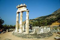 - Delphos temples....- templi di Delfi