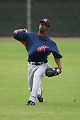 March 20th 2008:  Luis Perdomo of the Cleveland Indians minor league system during Spring Training at Chain of Lakes Training Complex in Winter Haven, FL.  Photo by:  Mike Janes/Four Seam Images