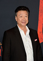 """LOS ANGELES, CA: 09, 2020: Tzi Ma at the world premiere of Disney's """"Mulan"""" at the El Capitan Theatre.<br /> Picture: Paul Smith/Featureflash"""