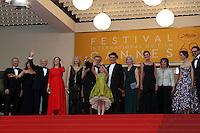 "FRA: ""THE BFG"" Red Carpet- The 69th Annual Cannes Film Festival - Steven Spielberg, Ruby Barnhill, Mark Rylance, Rebecca Hall, Penelope Wilton, Jemaine Clement, Franck Marshall, Kathleen Kennedy, Kristie Macosko, attend ""THE BFG"". Red Carpet during The 69th Annual Cannes Film Festival on May 13, 2016 in Cannes, France.<br /> fee liable image, copyright © ATP"