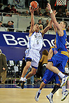 MADRID, Spain (22/01/11). Liga ACB de baloncesto, jornada 18, Real Madrid vs Asefa Estudiantes. Caja Magica...Pablo Prigioni...©Raul Perez .