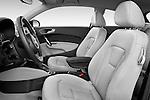 Front seat view of a 2014 Audi A1 Ambition 3 Door Hatchback 2WD