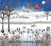 Kate, CHRISTMAS SYMBOLS, WEIHNACHTEN SYMBOLE, NAVIDAD SÍMBOLOS, paintings+++++Fox in snow.,GBKM562,#xx#