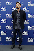 Luca Marinelli attends a photocall for the movie 'Don't Be Bad' during the 72nd Venice Film Festival at the Palazzo Del Cinema in Venice, Italy, September 7, 2015.<br /> UPDATE IMAGES PRESS/Stephen Richie