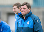 St Johnstone Training…12.05.17<br />Manager Tommy Wright pictured during training today ahead of tomorrow's game against Partick Thistle<br />Picture by Graeme Hart.<br />Copyright Perthshire Picture Agency<br />Tel: 01738 623350  Mobile: 07990 594431