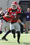 December 30, 2016: Georgia Bulldog wide receiver Isaiah McKenzie (16) in the first half of the AutoZone Liberty Bowl at Liberty Bowl Memorial Stadium in Memphis, Tennessee. ©Justin Manning/Eclipse Sportswire/Cal Sport Media