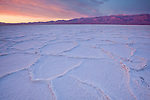 Sunrise at Badwater Salt Flats in Death Valley National Park, California, USA