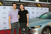 LOS ANGELES - SEP 25:  Felipe Vargas and TJ Ryan at the Catalina Film Festival Drive Thru Red Carpet, Friday at the Scottish Rite Event Center on September 25, 2020 in Long Beach, CA