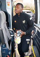 Photo: Richard Lane/Richard Lane Photography. London Wasps depart for Abu Dhabi for their LV= Cup game against Harlequins on 30st January 2011. 25/01/2011. London Wasps' Christian Wade departs for Abu Dhabi at Twyford Avenue.