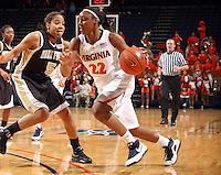 UVa women's basketball player Monica Wright.