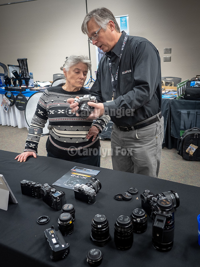Michael Blubenko shows Fuji cameras at Shooting the West<br /> .<br /> .<br /> .#FujifilmWorld,<br /> #ShootingTheWest XXX, #WinnemuccaNevada