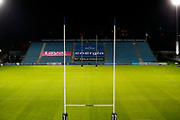 16th November 2020; RDS Arena, Dublin, Leinster, Ireland; Guinness Pro 14 Rugby, Leinster versus Edinburgh; A general viw of the empty RDS Arena prior to kickoff