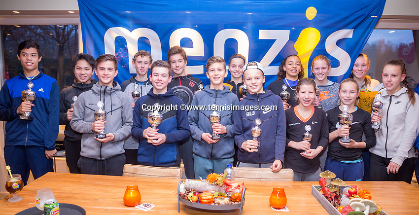 Hilversum, Netherlands, December 3, 2017, Winter Youth Circuit Masters, 12,14,and 16 years, <br /> Photo: Tennisimages/Henk Koster