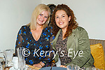 Enjoying the evening the in Bella Bia on Saturday, l to r: Fiona O'Dowd (Limerick) and Aoife O'Dowd (Tralee).