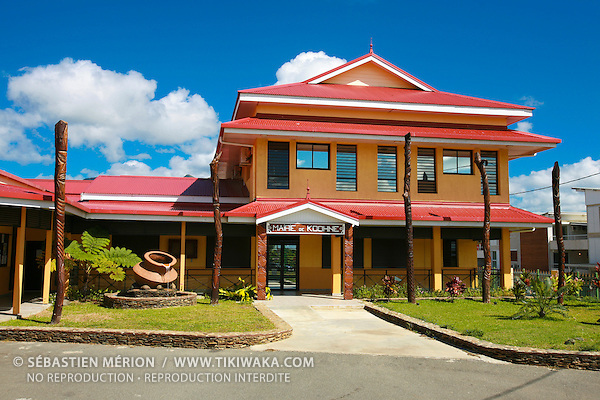Mairie de Koné, province Nord, Nouvelle-Calédonie