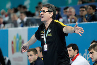Spain's coach Valero Rivera during 23rd Men's Handball World Championship preliminary round match.January 15,2013. (ALTERPHOTOS/Acero) /NortePhoto