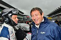 #50 JACK LECONTE (FRA) LARBRE COMPETITION TEAM MANAGER GERARD NEVEU (FRA) CEO FIA WEC