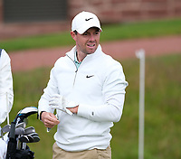 7th July 2021; North Berwick, East Lothian, Scotland;  Rory McIlroy Northern Ireland on the 3rd tee during the Celebrity Pro-Am at the abrdn Scottish Open at The Renaissance Club, North Berwick, Scotland.