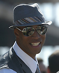 July 22, 2009.Richard Jefferson enjoying the race's on Opening Day at Del Mar Racetrack, Del Mar, CA