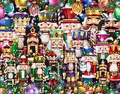 Randy, CHRISTMAS SYMBOLS, WEIHNACHTEN SYMBOLE, NAVIDAD SÍMBOLOS,nutcracker,nutcrackers, paintings+++++,USRW343,#xx# ,puzzle,puzzles