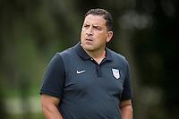 Orlando, FL - Friday Oct. 14, 2016:   Coaching instructor Santo Rivas during a US Soccer Coaching Clinic in Orlando, Florida.