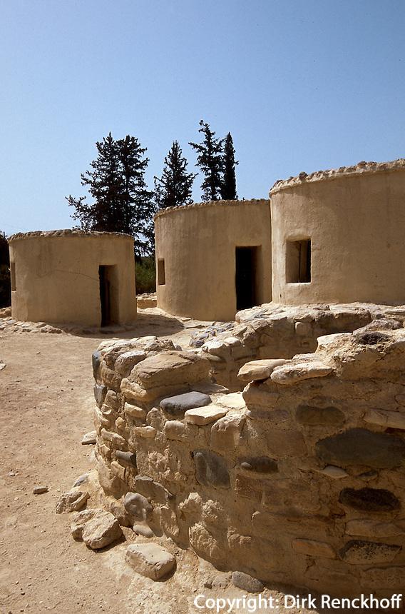 Zypern (Süd), Steinzeitdorf Choirokitia, 7000 v.Chr., Unesco-Weltkulturerbe