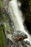 Green River Adventures Big Bradley Waterfall Rappel