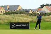 Anthony Wall (ENG) during the final of the 2016 Aberdeen Asset Management Paul Lawrie Matchplay played over the Fidra Links at Archerfield, East Lothian from 4th to 7th August 2016:  Picture Stuart Adams, www.golftourimages.com: 07/08/2016