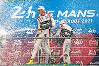 Ferdinand Habsburg, #31 Team WRT Oreca 07 - Gibson LMP2, 24 Hours of Le Mans , Podium, Circuit des 24 Heures, Le Mans, Pays da Loire, France