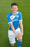 St Johnstone Academy Under 17's…2016-17<br />Morgan Miller<br />Picture by Graeme Hart.<br />Copyright Perthshire Picture Agency<br />Tel: 01738 623350  Mobile: 07990 594431