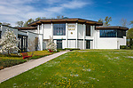 Deutschland, Bayern, Niederbayern, Baederdreieck, Bad Fuessing: Kurpark, Spielbank | Germany, Bavaria, Lower Bavaria, resort Bad Fuessing: spa gardens, Casino