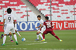 Qatar vs Japan during the 2016 AFC U-19 Championship Group C match at Bahrain National Stadium on 20 October 2016, in Riffa, Bahrain. Photo by Jaffar Hasan / Lagardere Sports