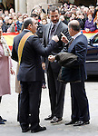 Prince Felipe of Spain visits Alcaniz village on November 7, 2012 in Alcaniz, Teruel, Spain. (ALTERPHOTOS/Acero)