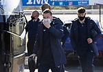 St Johnstone v Rangers…21.04.21   McDiarmid Park   SPFL<br />Steven Davis arrives at McDiarmid Park<br />Picture by Graeme Hart.<br />Copyright Perthshire Picture Agency<br />Tel: 01738 623350  Mobile: 07990 594431
