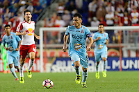 Harrison, NJ - Thursday Sept. 15, 2016: Herbert Sosa during a CONCACAF Champions League match between the New York Red Bulls and Alianza FC at Red Bull Arena.