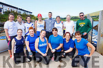 The Cahersiveen ladiews crew of the Liberator who took part in the charity race in aid of The Irish Pilgrimage Trust Group 135, front l-r; Caroline Moriarty, Linda Kelly, Geraldine Reardon, Jacinta O'Shea, Stephanie Mahey, Fiona O'Connell,  back l-r; Meabh Daly, Angela Kelly, Linda Galvin, Sinead O'Sullivan, Daniel Daly(cox), Aoife Daly, Julie Murphy & Patrick McGill.